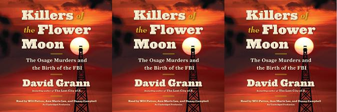 David Grann and the book 'Killers of the Flower Moon: The Osage Murders and the Birth of the FBI'