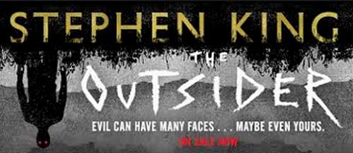 Stephen King and the book 'The Outsider'